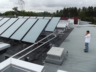 Multi Family Solar Hot Water Preheat in Surrey BC